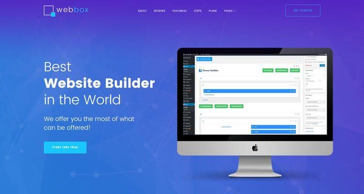 One Page WordPress Business Themes
