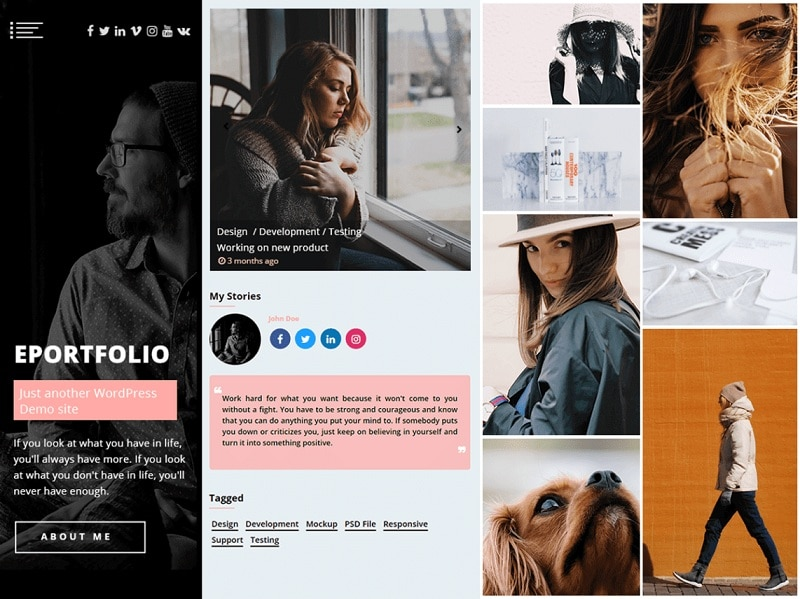 Free Marketing WordPress Themes
