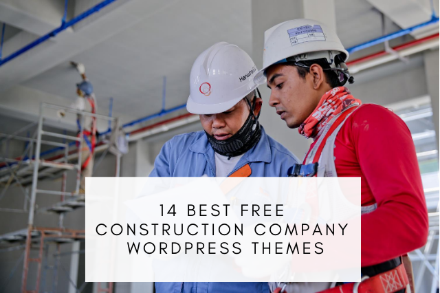 Best free construction company WordPress themes