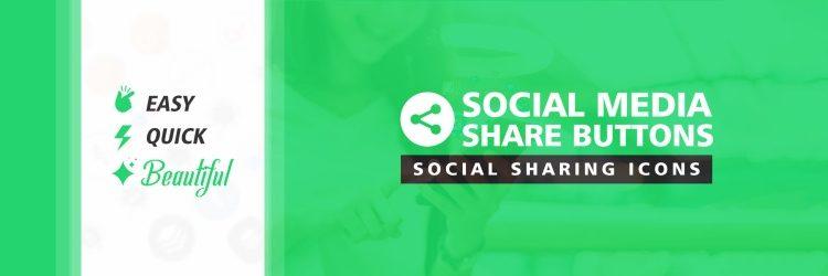 Best free wordpress Social Media Share Buttons