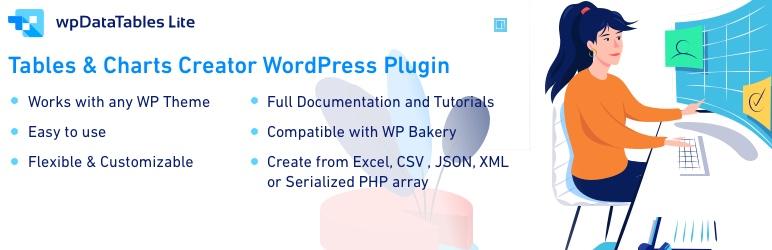 WpDataTables Free WordPress Table Plugins