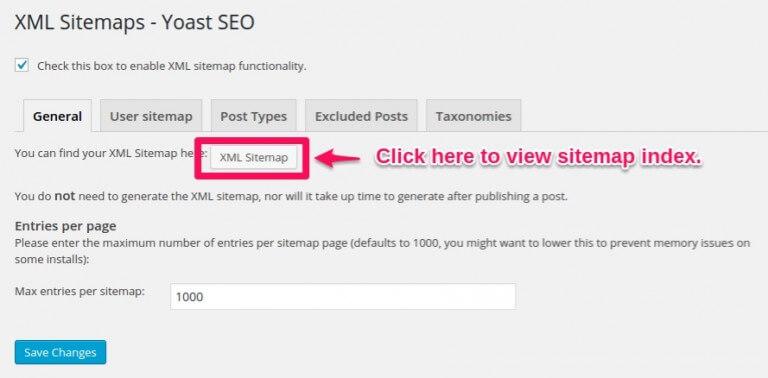 yoast seo sitemap Free WordPress Sitemap Plugins