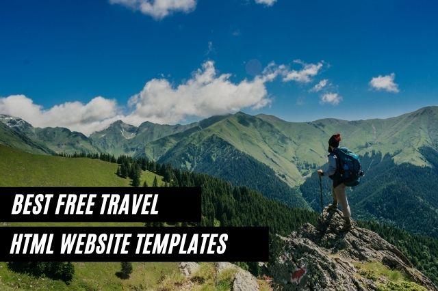 Free Travel HTML Website Templates