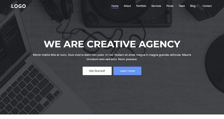 Free Creative HTML Website Templates