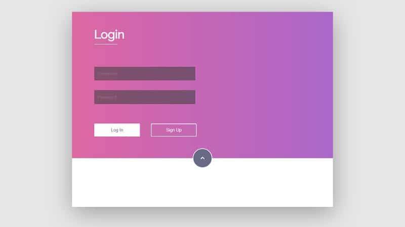 Login Form Animation