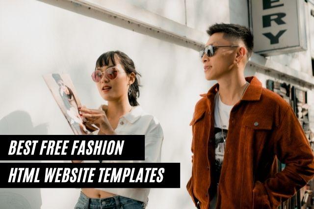 Best Free Fashion HTML Website Templates