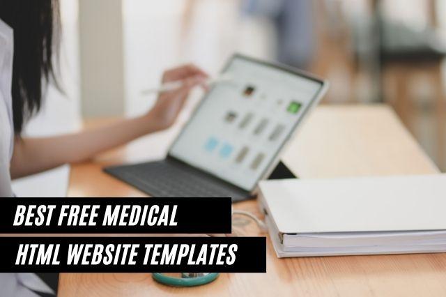 Best Free Medical HTML Website Templates