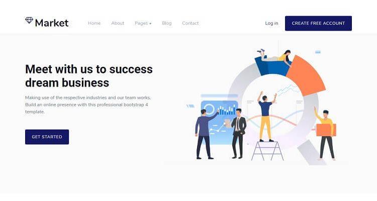 Free Corporate HTML Website Templates