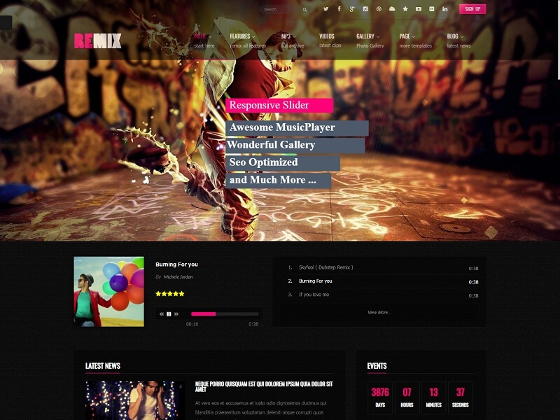 Remix Best Drupal Ecommerce Themes