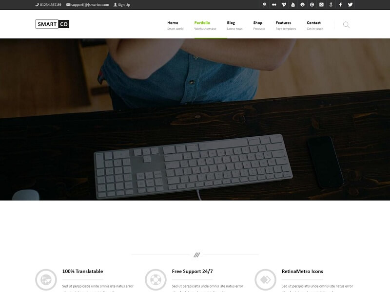 SmartCo Best Drupal Ecommerce Themes