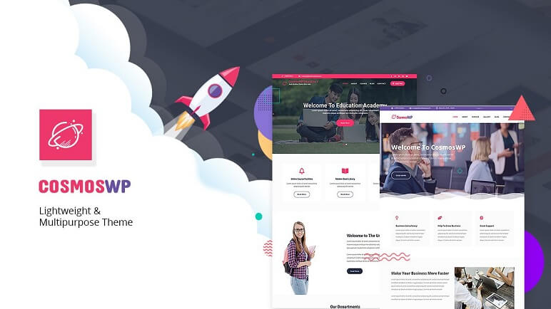 cosmoswp best Free WordPress Themes