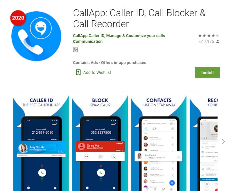 Call App caller ID