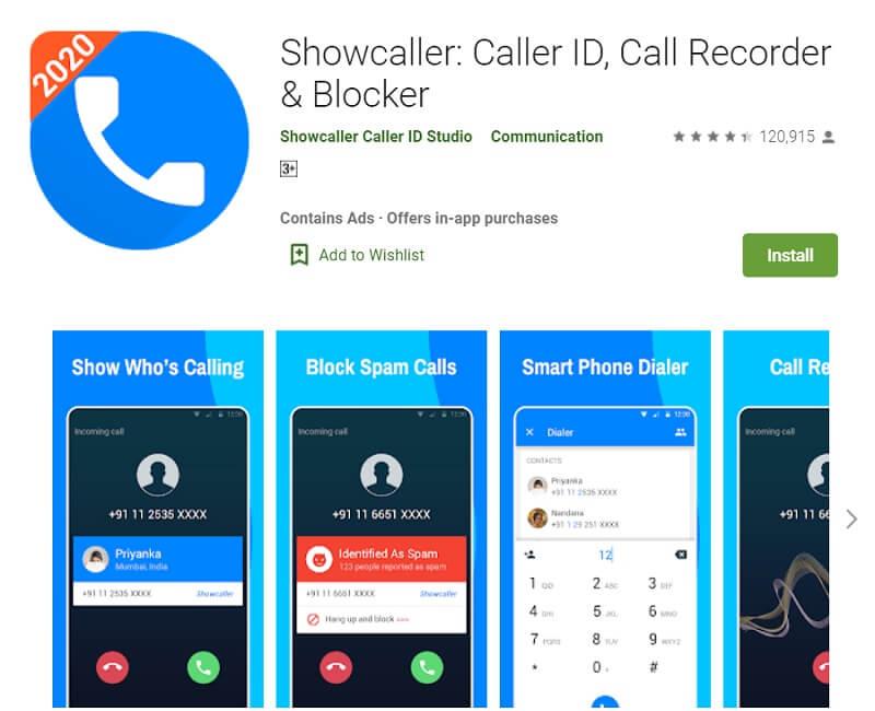 Showcaller Truecaller Alternatives