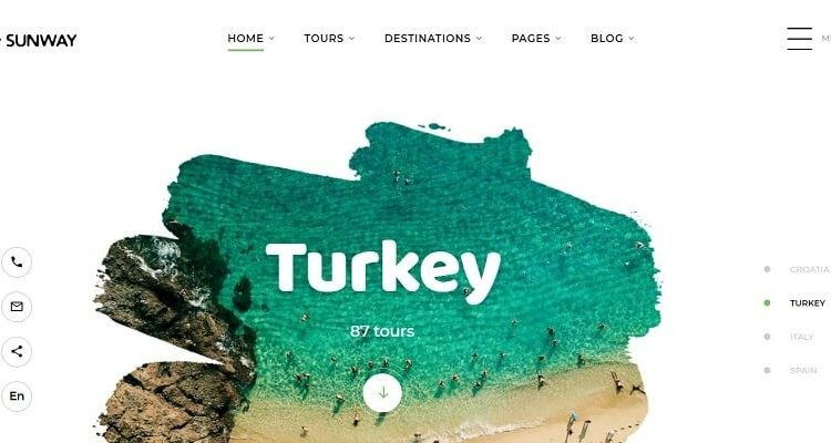 Best Travel Bootstrap Website Templates