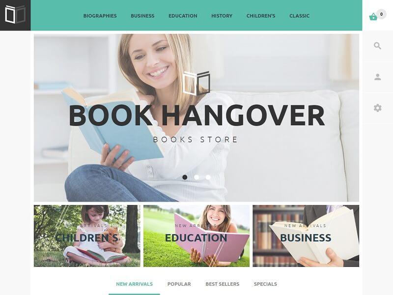 Book Hangover Free Prestashop Theme