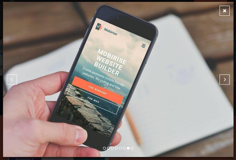 Bootstrap Gallery Free Slider