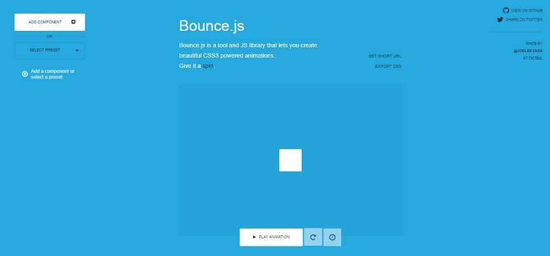 Bounce CSS Animation Libraries