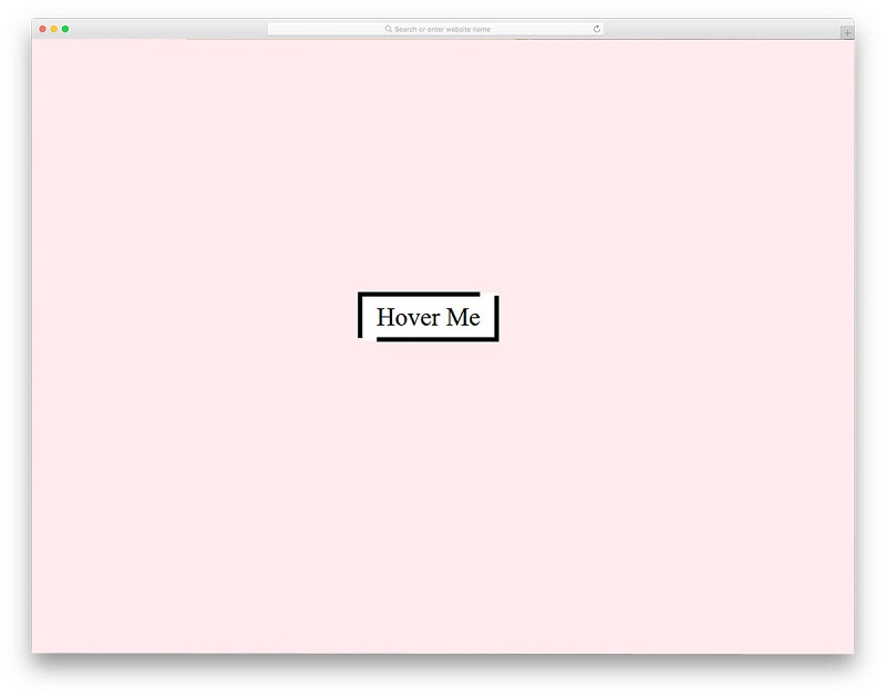 Button Hover Animation Best Free HTML CSS Hover Effects
