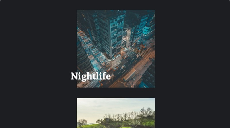 CSS CLIP PATH HOVER EFFECT