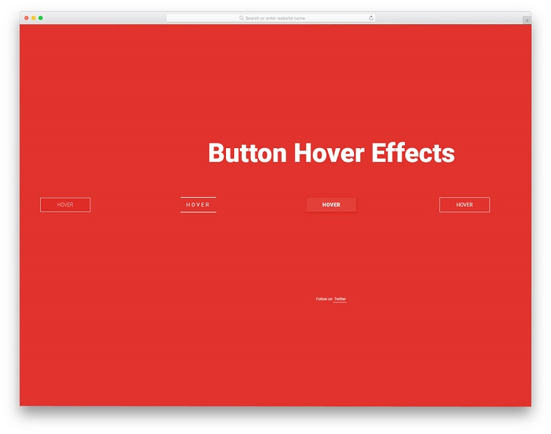 Collection of Button Hover Effects Best Free HTML CSS Hover Effects