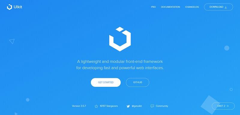 UI kit Free HTML CSS Frameworks