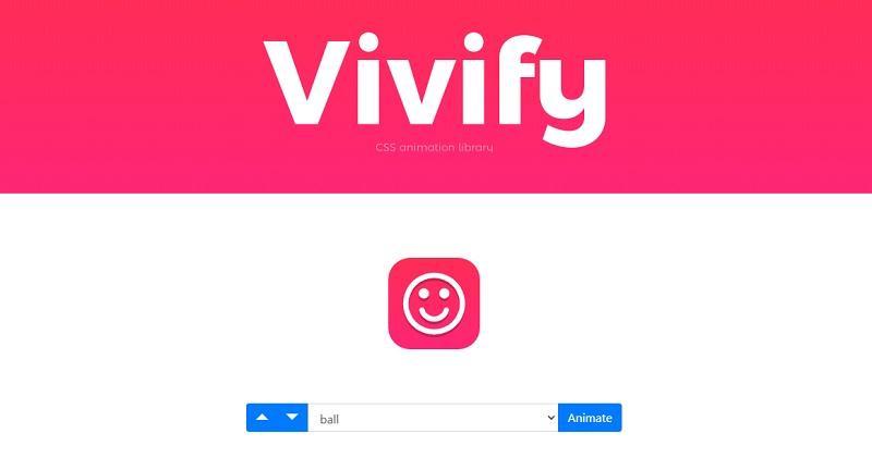 Vivify CSS Animation Libraries