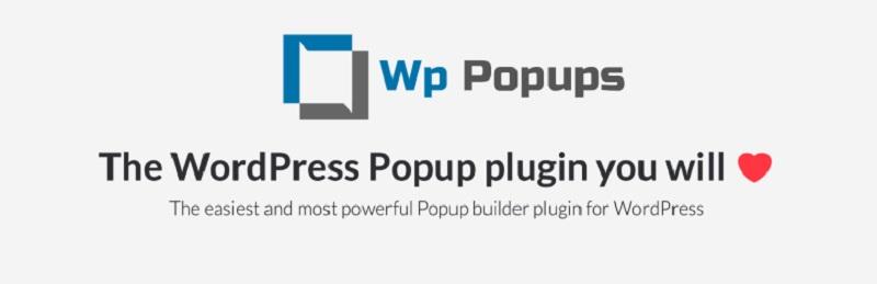 WP Popups Free WordPress Popup Plugins