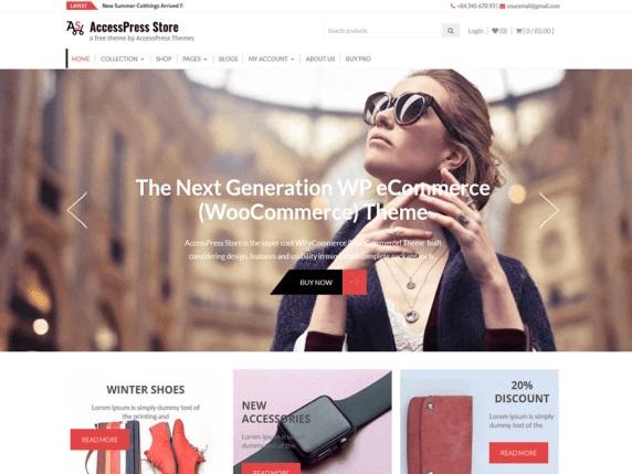 AccessPress Store eCommerce WordPress Themes