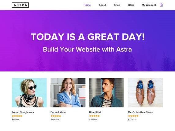 Astra Free WooCommerce WordPress Theme