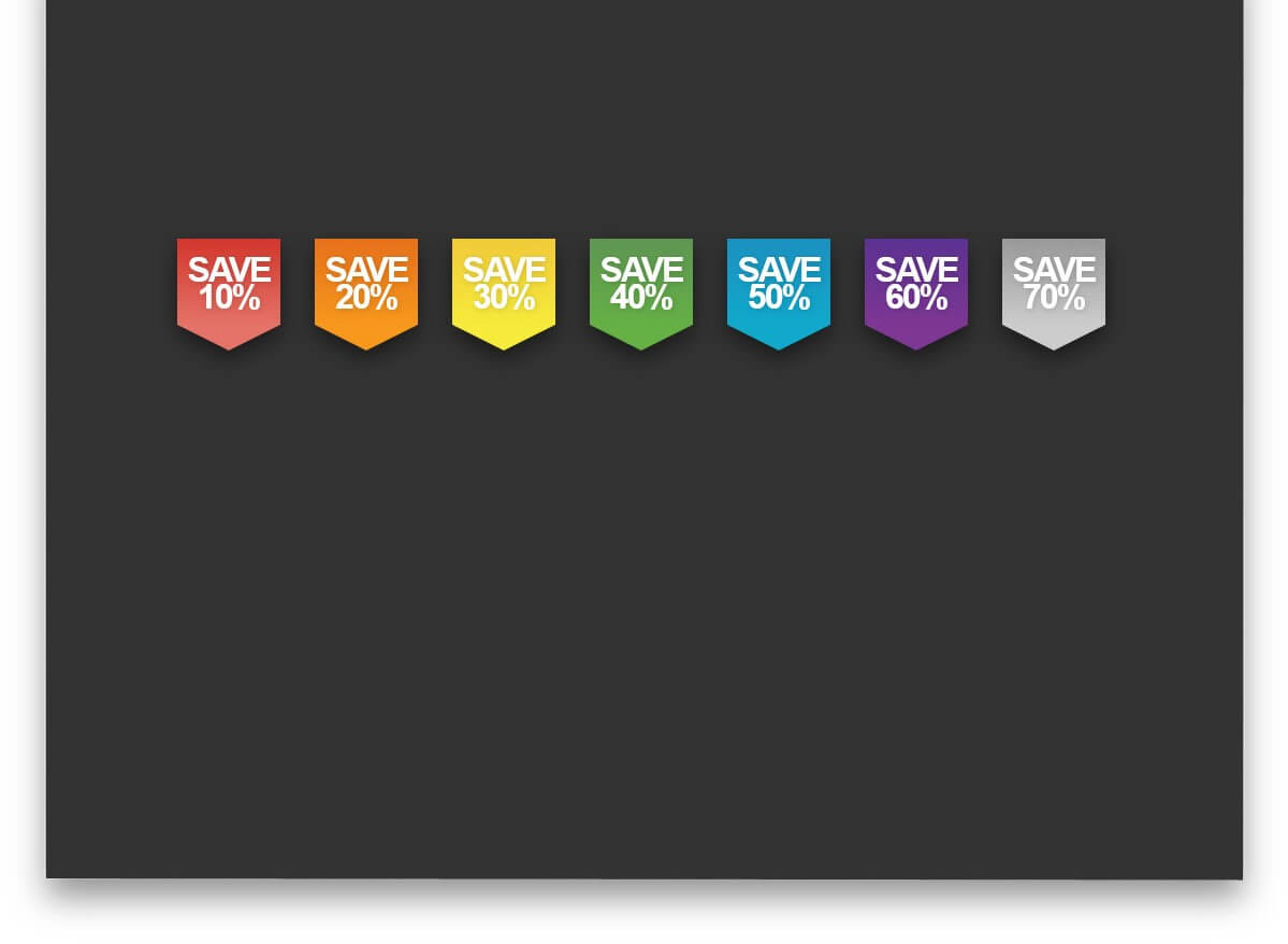 CSS Ribbon Product Badges