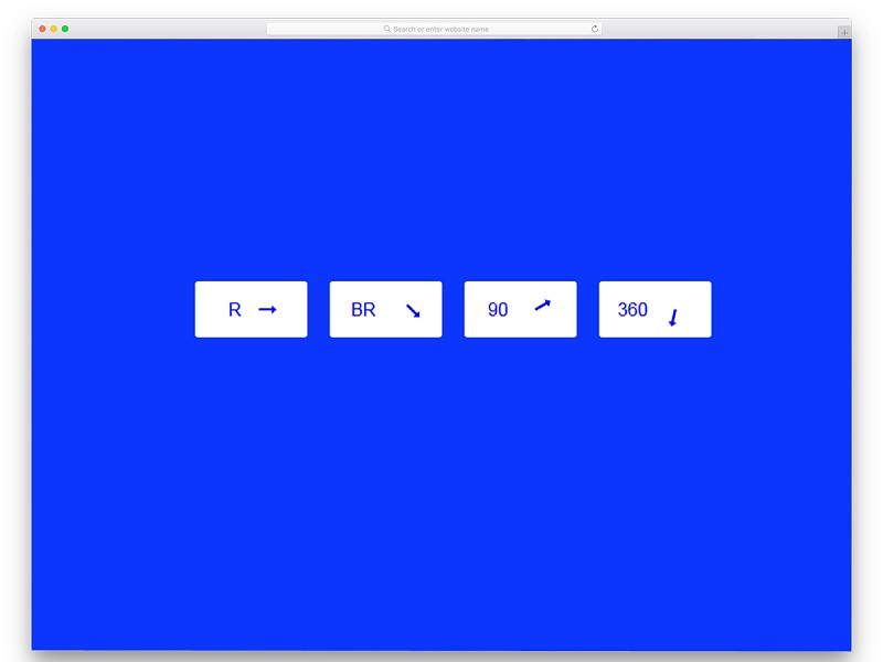 CSS animation for sliding Arrow