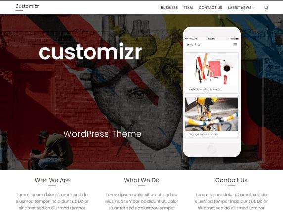 Customizr Free Ecommerce WordPress Themes