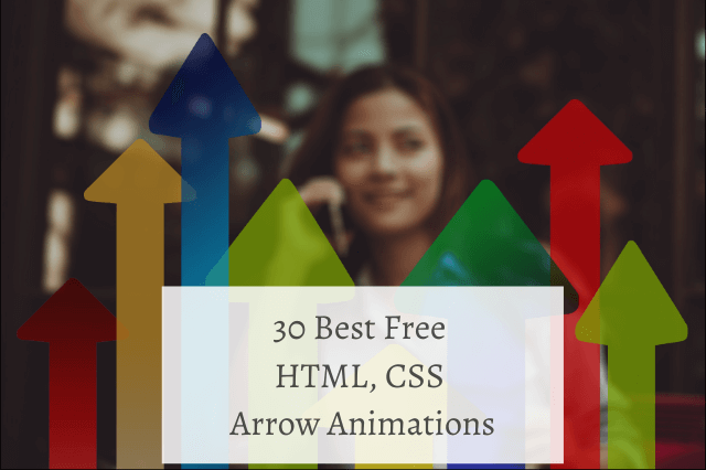30 Best Free HTML CSS Arrow Animations