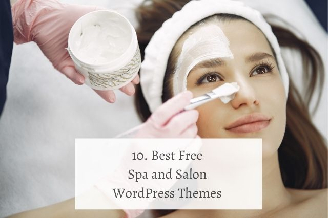 Best Free Spa Salon WordPress Themes