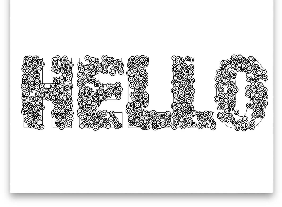 Hello CSS text effects