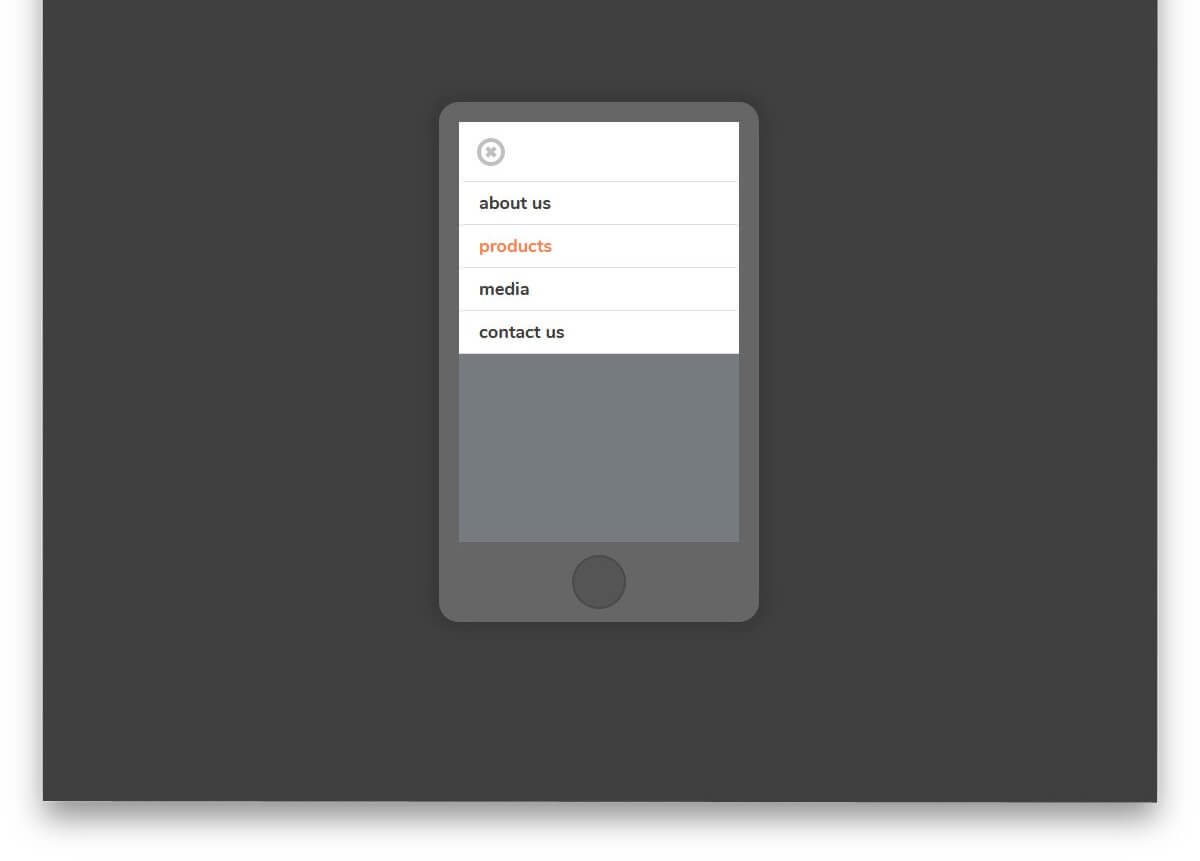 Mobile Nav Only Checkbox CSS