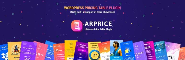 Pricing Table Plugin