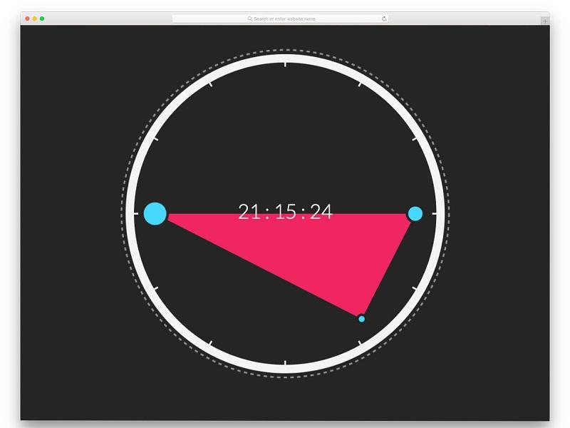 React Morph Clock
