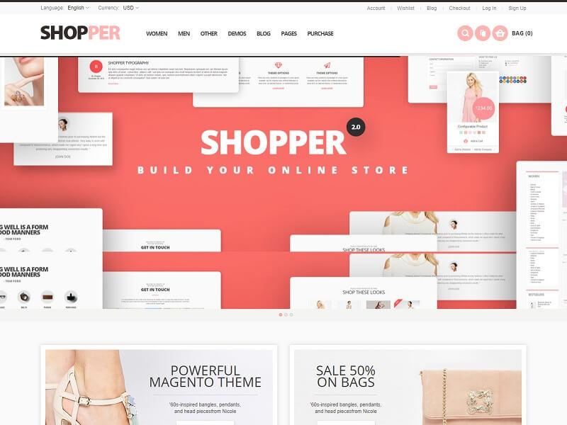 Shopper 1 Magento Ecommerce Themes
