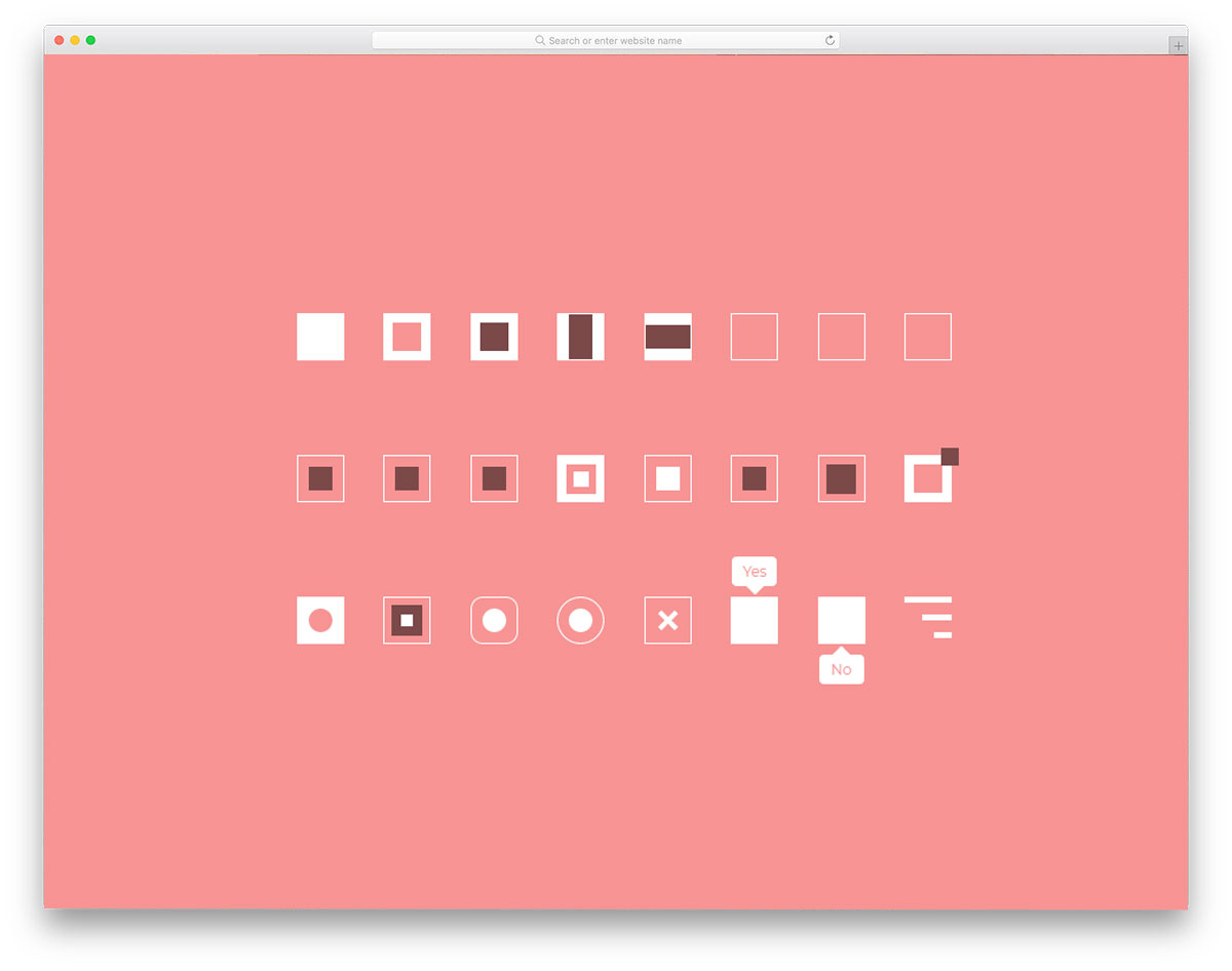 Style Checkboxes Free HTML CSS Checkboxes
