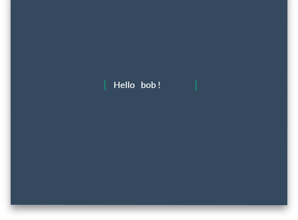 Text Animation CSS text effects