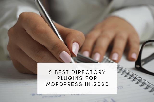 5 Best Directory Plugins for WordPress in 2020