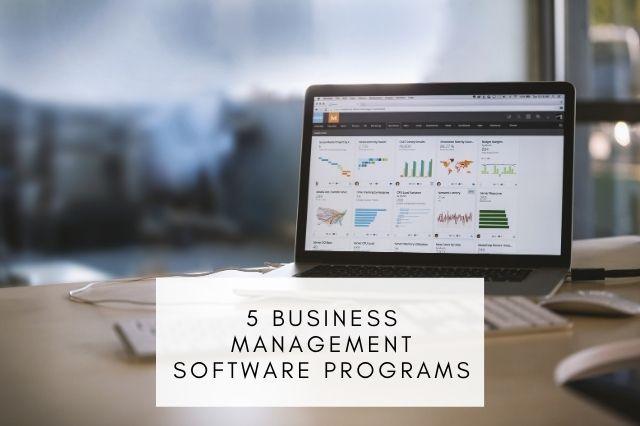 Business Management Software Programs