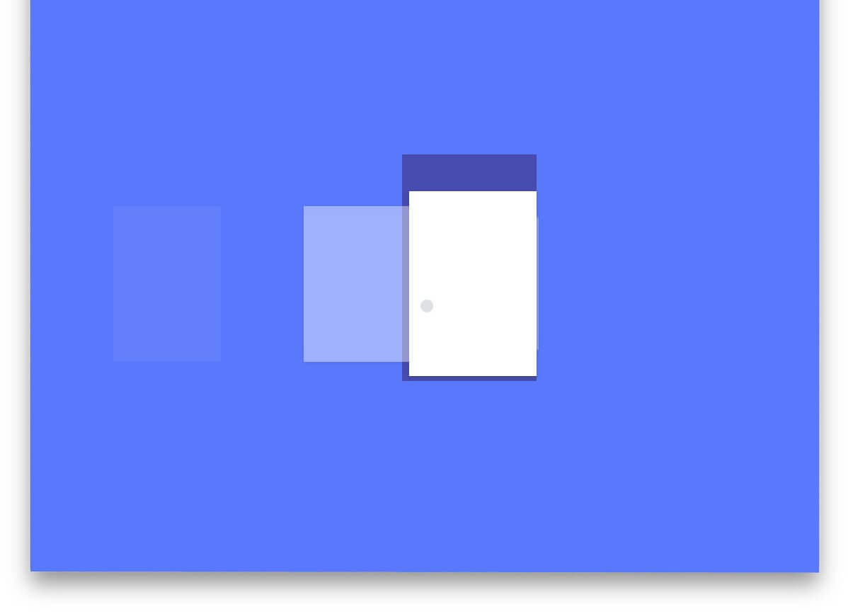 Card Swipe Animation Material Design