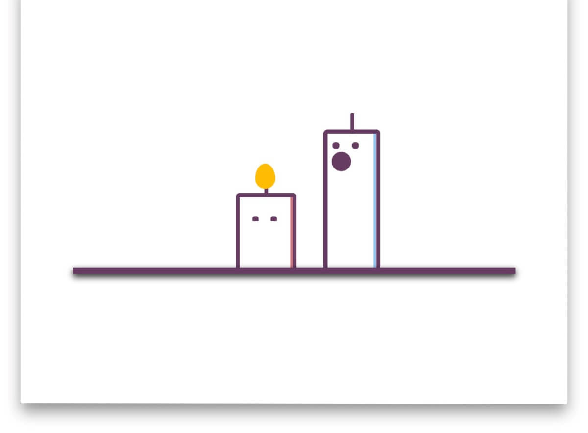 Funny Candle Pure CSS Animation