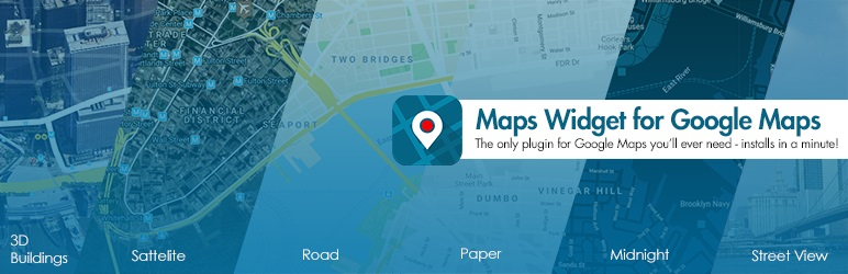 Google Maps Widget Free Google Map Plugin