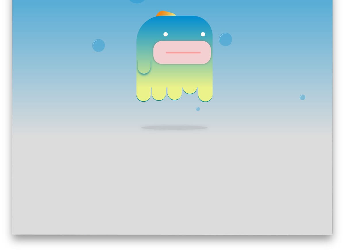 Mr JeellyFish CSS animation effects