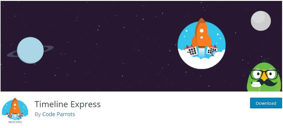 timeline express wordpress timeline plugins