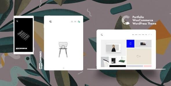 Calafate Portfolio WordPress theme