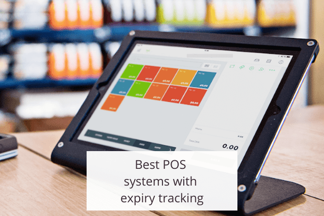 Best POS systems with expiry tracking